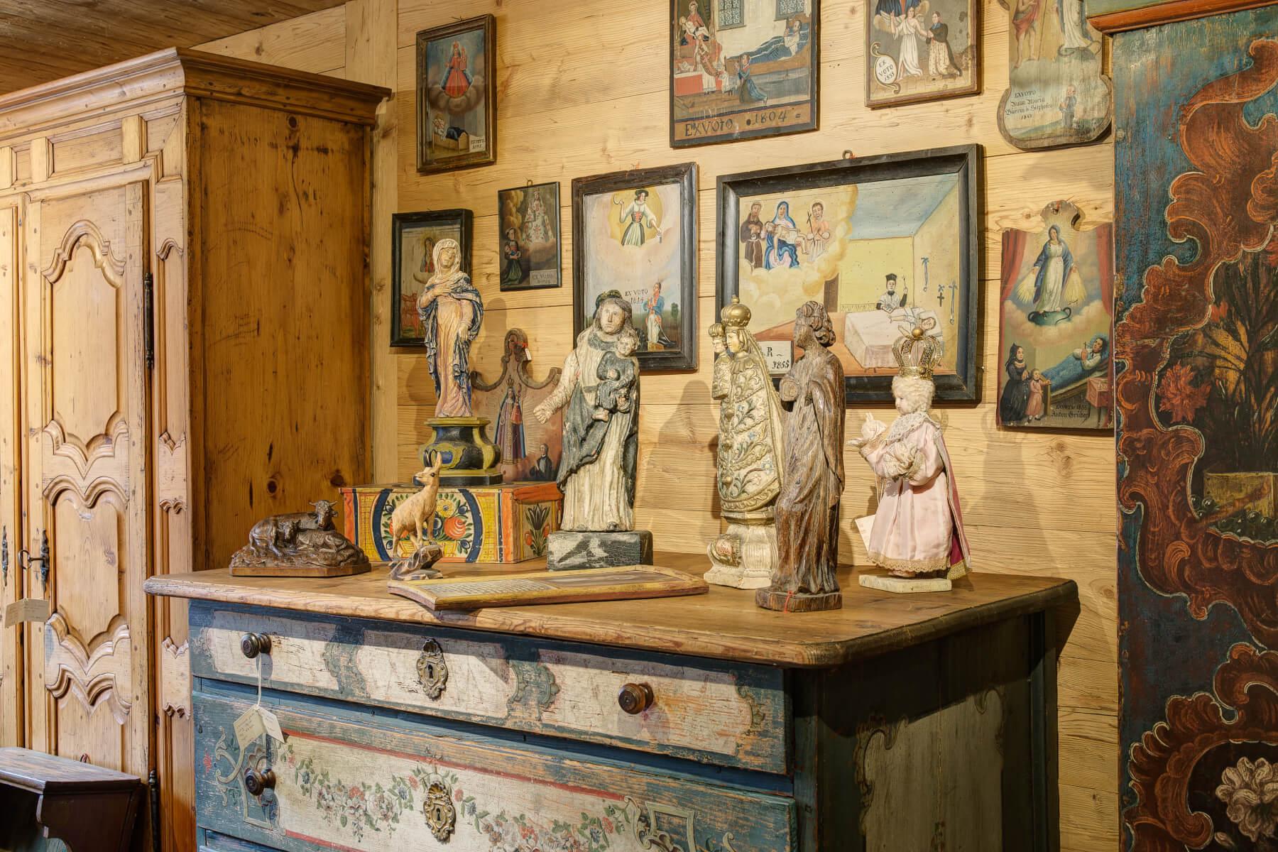 Le foyer - antiquités et art populaire