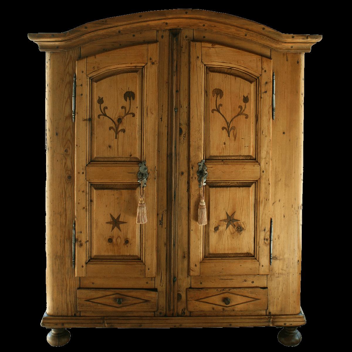 Petite armoire à 2 portes et 2 tiroirs