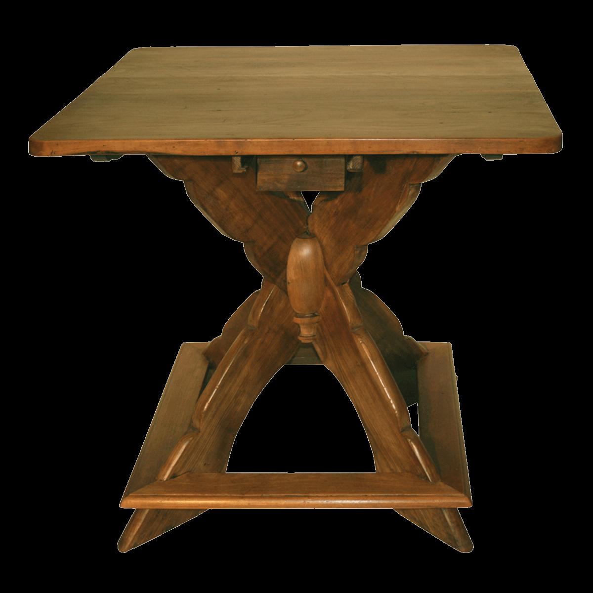 Petite table à pieds araignée