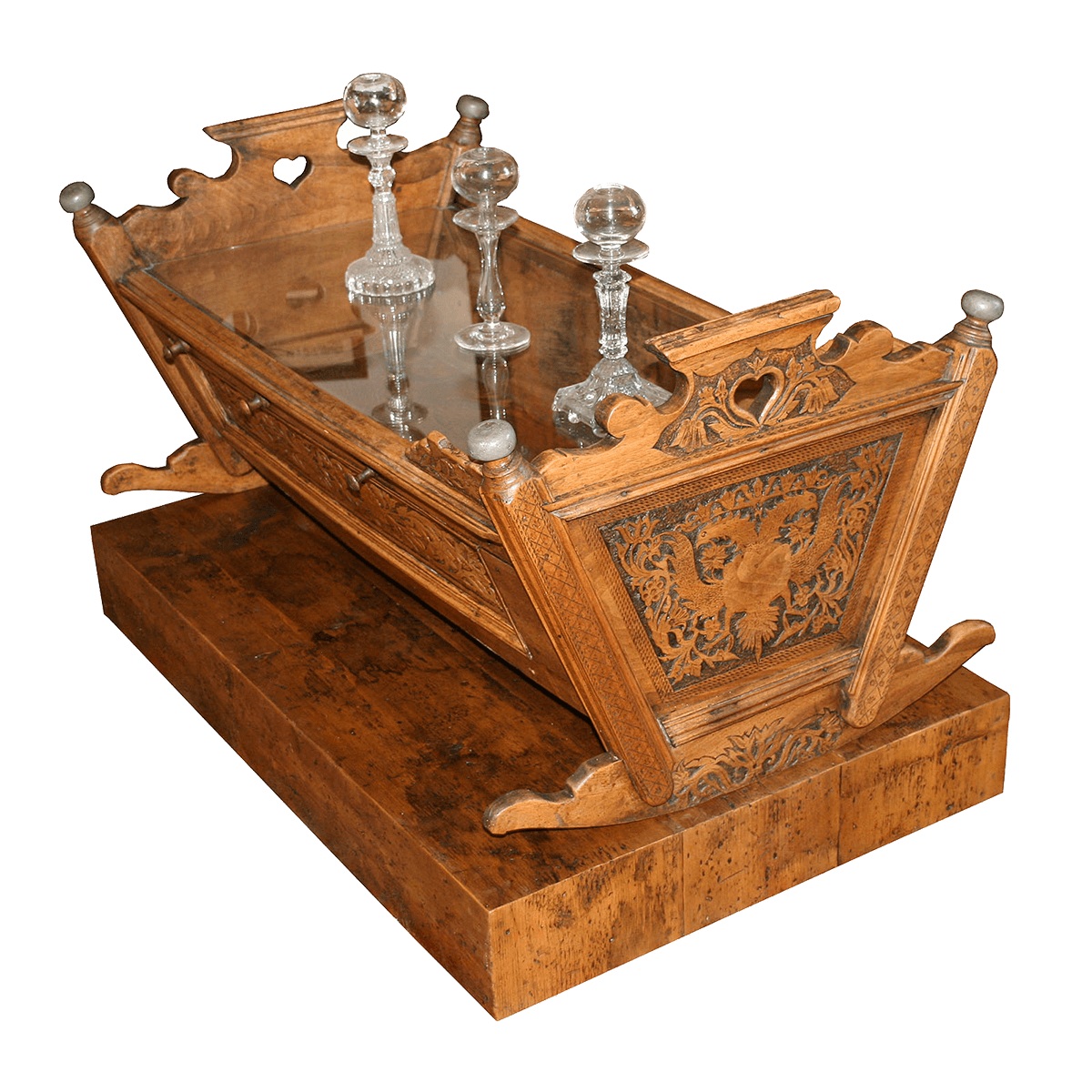 Table basse (berceau transformé)