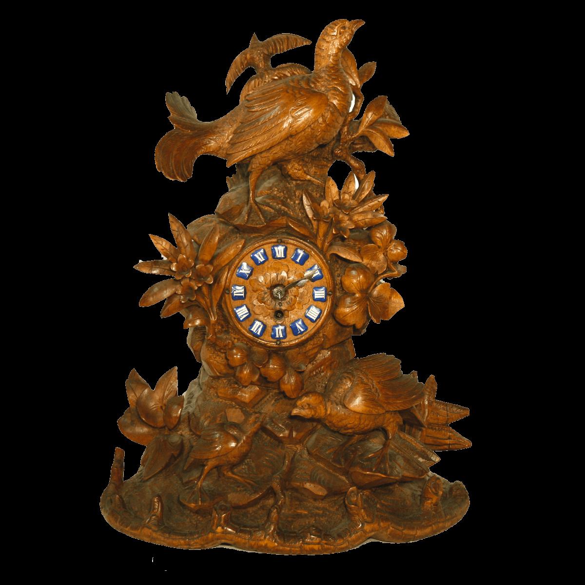 Horloge sculptée de Brienz