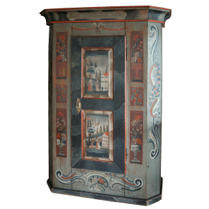 Armoire peinte à 1 porte