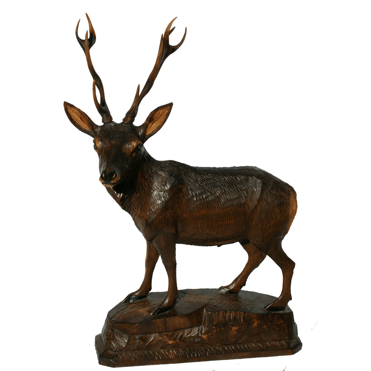 Sculpture de Brienz cerf