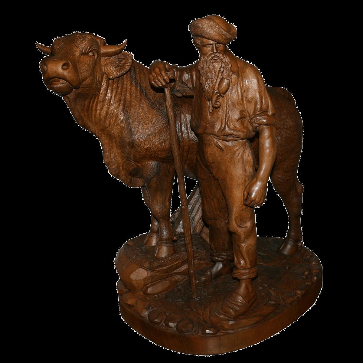 Sculpture de Brienz