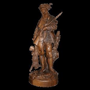 Statue de Brienz chasseur