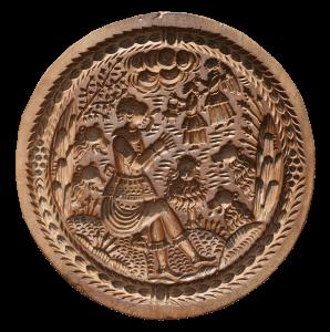 Moule à biscuit « Daniel dans la fosse aux lions »