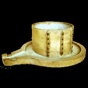 Moule à fromage avec décors sculptés