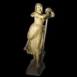 Statue en terre cuite de Friedrich Goldscheider (1845-1897)