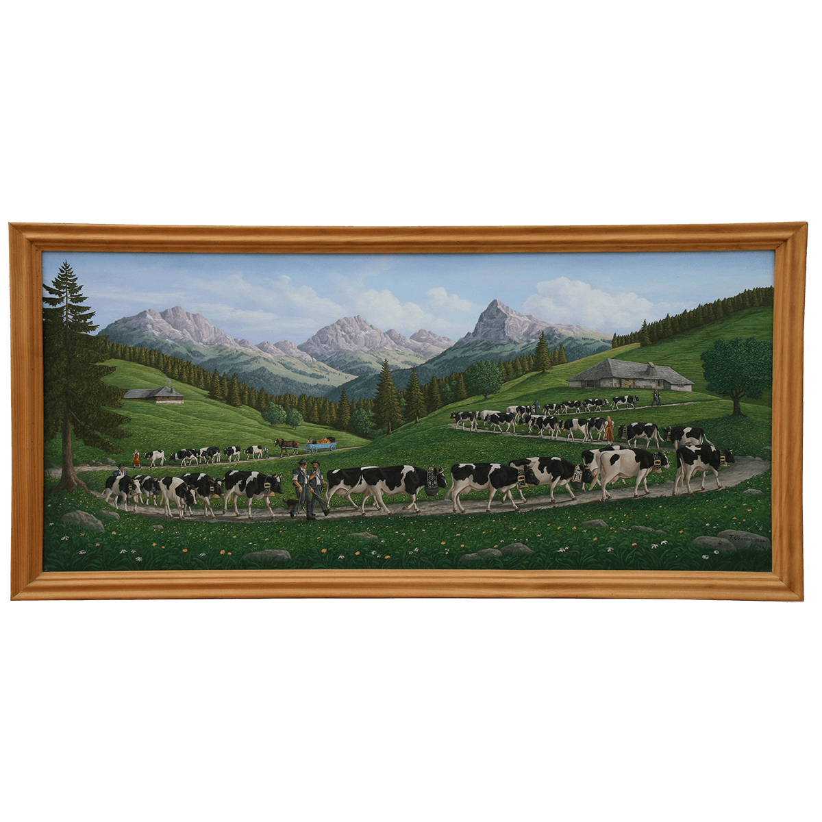 Poya peinte par Francis Oberson