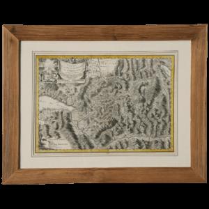 Carte de L'Oberland par Samuel Loup de Rougemont