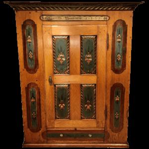 Armoire peinte à une porte