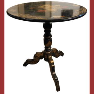 Petite table Napoléon III rabatable