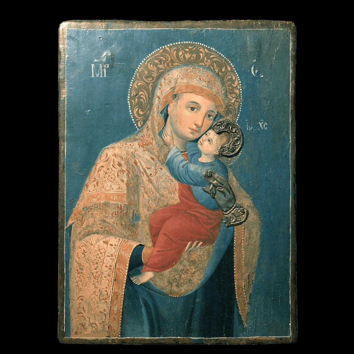 Icône Vierge à l'Enfant.